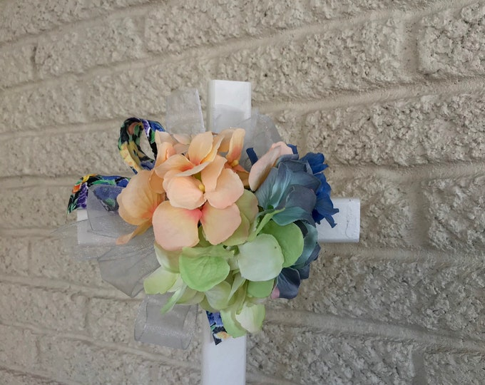 Cemetery flowers, flowers for grave, grave decoration, memorial cross, Cross for grave, cemetery cross, in memory of