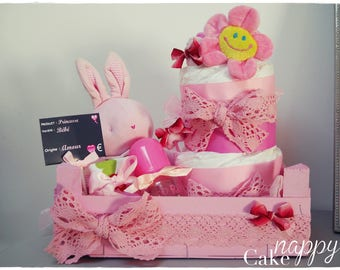 The 1st market baby Nappy Cake diaper cake box