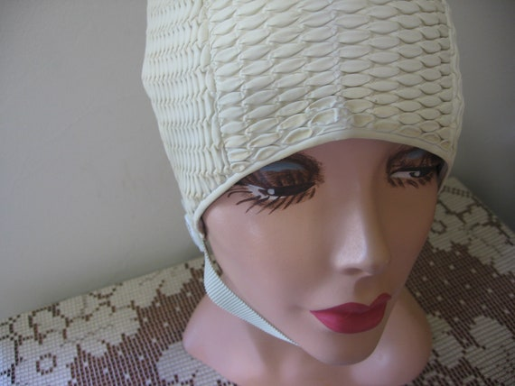 CLEARANCE / Vintage Swim Cap / SUNWEAR / Natural /