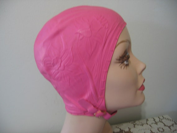 Vintage Swim Cap / HOWLAND / Hair Dry / Size 21 -