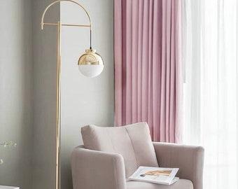 Pink Velvet Curtains Etsy