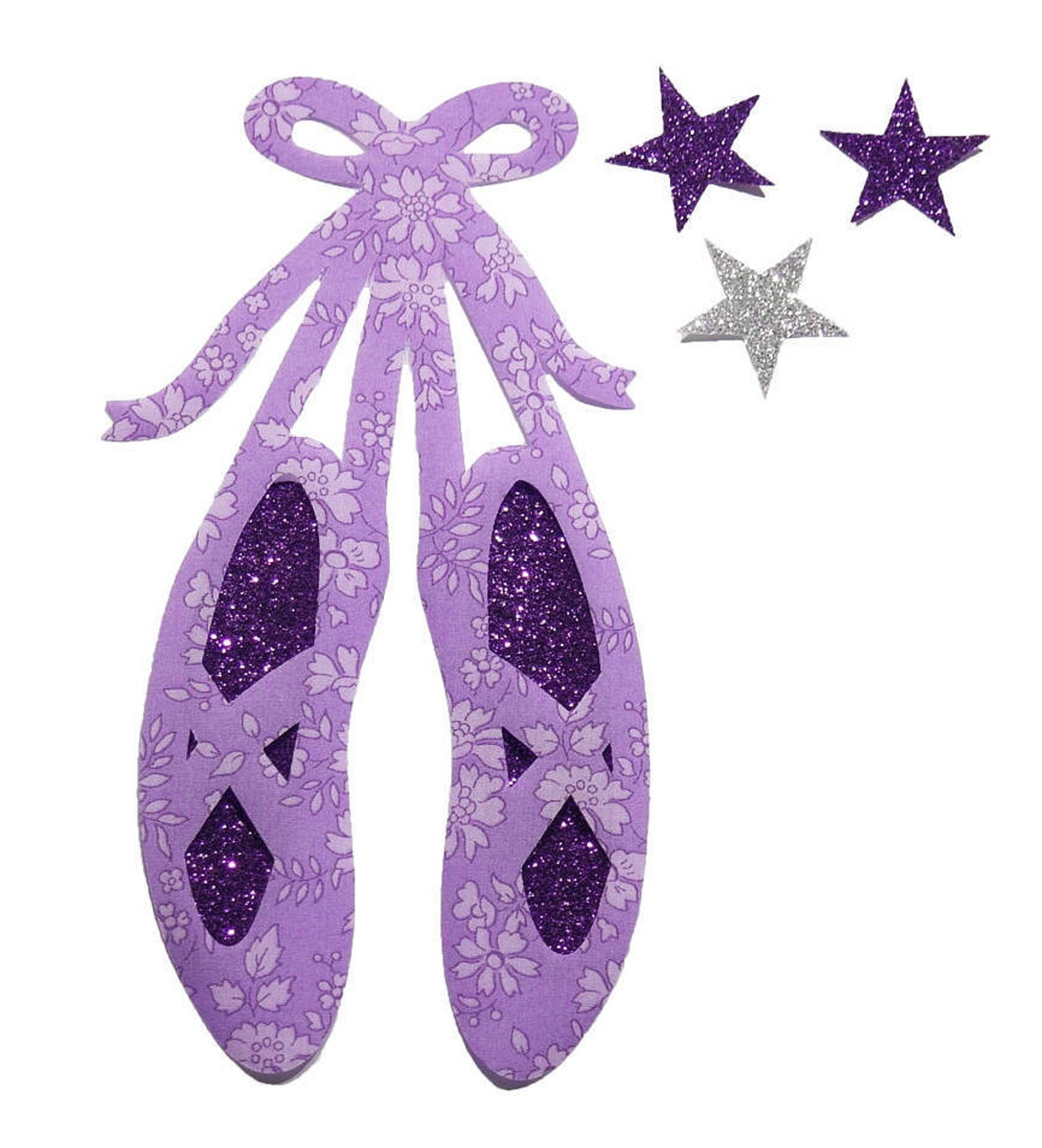 iron on applique liberty fabric ballet shoes liberty katie and milie with blush glittery fabric