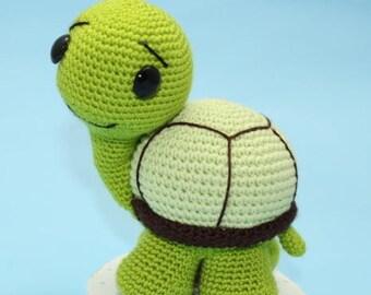 PDF PATTERN - Turtle Crochet