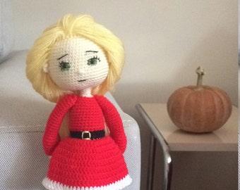 PATTERN - Christmas Girl