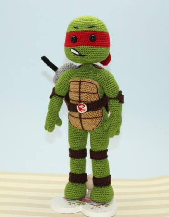 Shop Crochet Ninja Turtle on Wanelo | 732x570