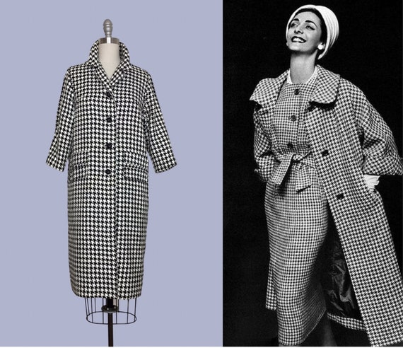 Mantel im 60er jahre stil