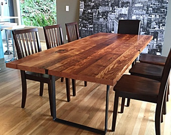 Gentil Reclaimed Wood Table Handmade In Portland, OR