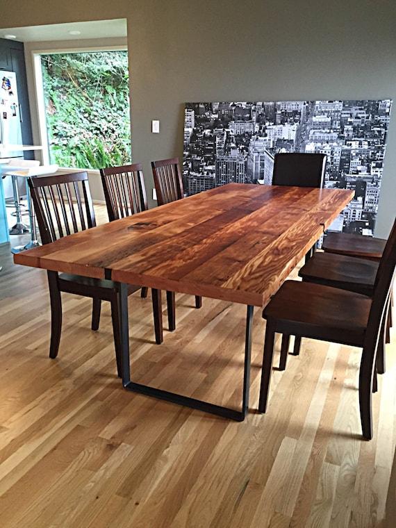 Reclaimed Wood Table Handmade In, Reclaimed Wood Furniture Portland