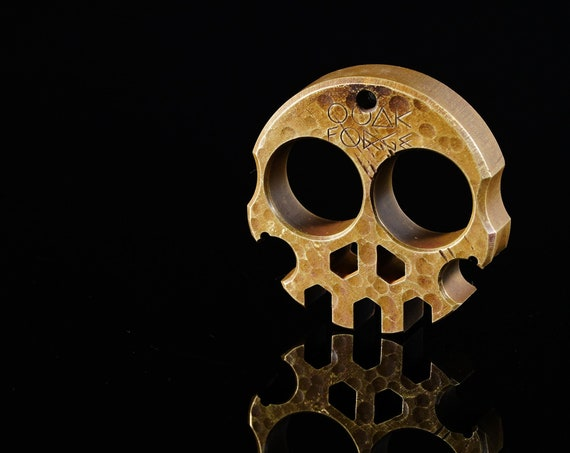 """Compact Brass Skully Multi-Tool .5"""""""