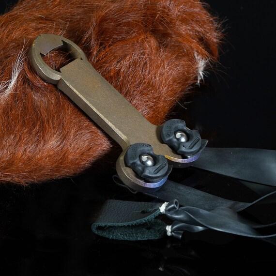 Titanium 'Nut Shot' Slingshot, Handful Size