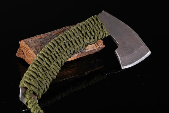 Paracord Wrapped Hatchet