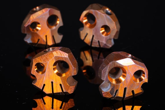 Titanium Skully Bead
