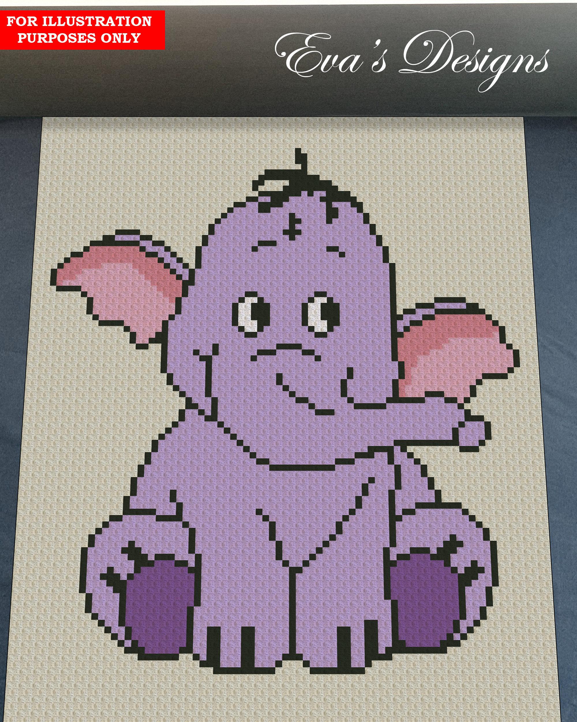 Crochet Elephant/Crochet baby blanket/crochet animal blanket ... | 2500x2000