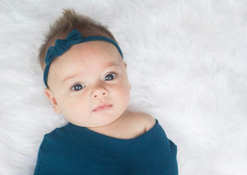 Pink baby bow; pink baby headband; small pink bow; small pink headband; small baby bows; small baby headbands; more colors available