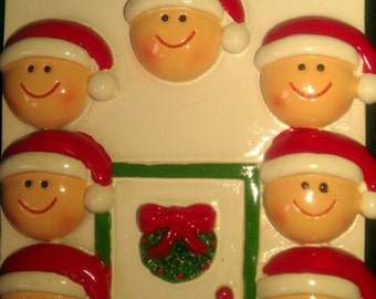 Personalize Family of 7 Ornament