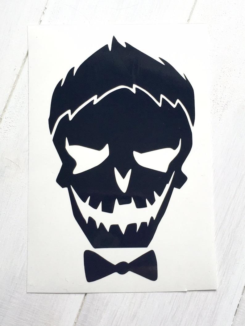 DIY Boy Skull cut from Vinyl image 0