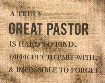 Pastor Appreciation Print - Pastor Gift - Pastor Retirement - Church Gift