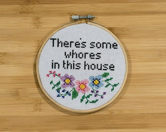 Nothing for you Cross Stitch Kit whore.