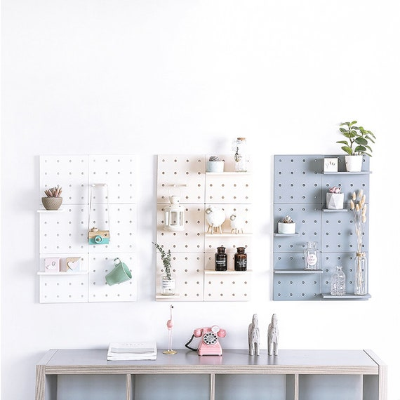 4 Ensemble Blanc Mural étagère De Rangement élégant De