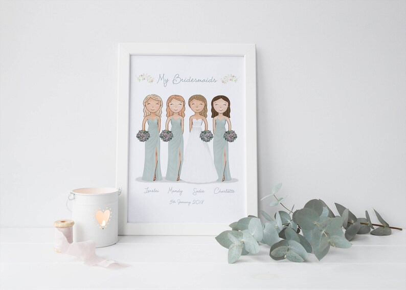 image 0 ...  sc 1 st  Etsy : gifts for brides from bridesmaid - medton.org