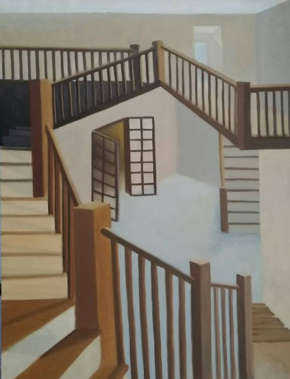 Cherry Staircase | Etsy