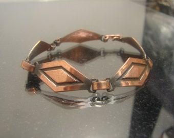 "Vint Copper Bracelet 9 grams , 7"" long   365"