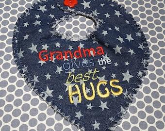 Baby Machine Embroidery Design Grandma Words