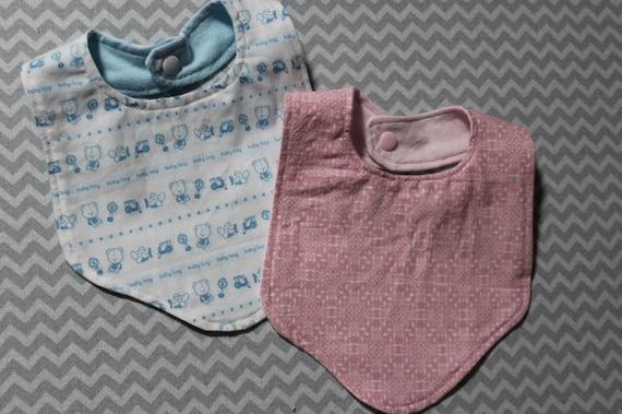 Bavoir bébé VIP Mariage Invité bandana blanc