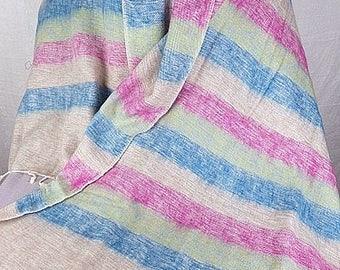 08edad864f57 CHALE en laine, YAk bleu rose beige, pashmina, chale ethnique etole foulard  echarpe shawl stole PLY11