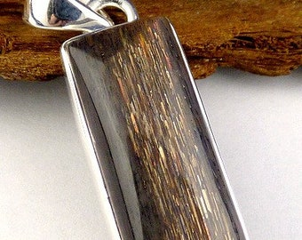 Shape Rectangle jewelry pendant Black Sun stone cz62.1