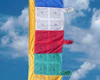 FLAG Tibetan VERTICAL 1.8 meters decoration temple Buddhist stupa DV165