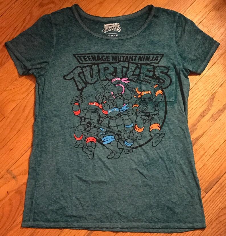 ef7e1aaf4 Teenage Mutant Ninja Turtles Shirt | Etsy