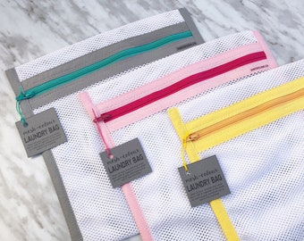 Laundry Wash Bags, Mesh Laundry Bag, Face Mask Wash Bag, Reusable Mesh Wash, Washing Machine Laundry Bag with Zipper, Protective Wash Bags