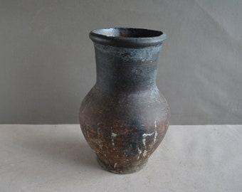 Natural Wood Artisan Vessel Dean Bruckner Vintage Turned Wood Vase