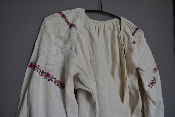 embroidered Embroidered Womens Vintage shirt shirt Ukrainian shirt folk Handmade Vyshyvanka embroidered dress nww7Rq