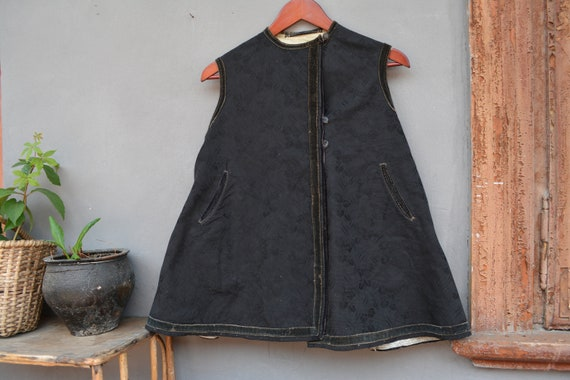 Antique Ukrainian vest - Traditional Ukrainian sle