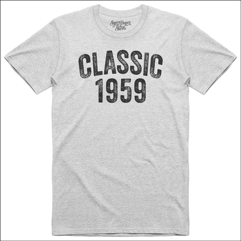 60th Birthday Gift Tshirt Classic 1959 Shirt