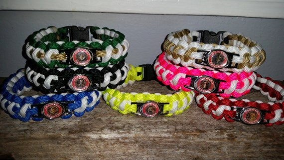 1 - Mighty Morphin Power Ranger 550 paracord bracelet MMPR