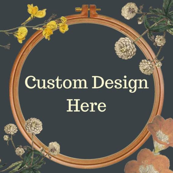 Custom Embroidery Design