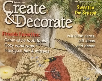 Items Similar To Create And Decorate Magazine Two Fall Issues