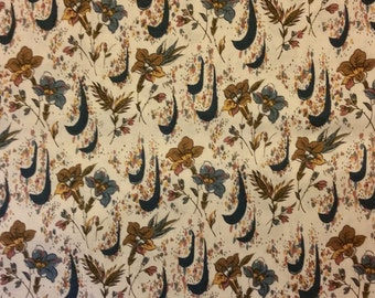 Empress - Abstract Floral Fabric