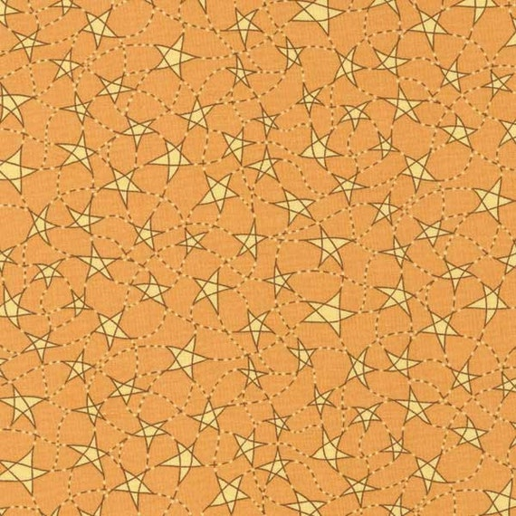 Thimbleberries Southern Skies Tan Floral Fabric