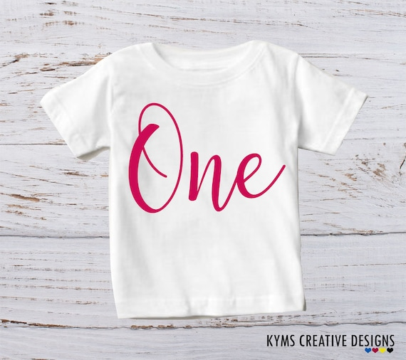 Baby Girl 1st Birthday Outfit T Shirts Boy