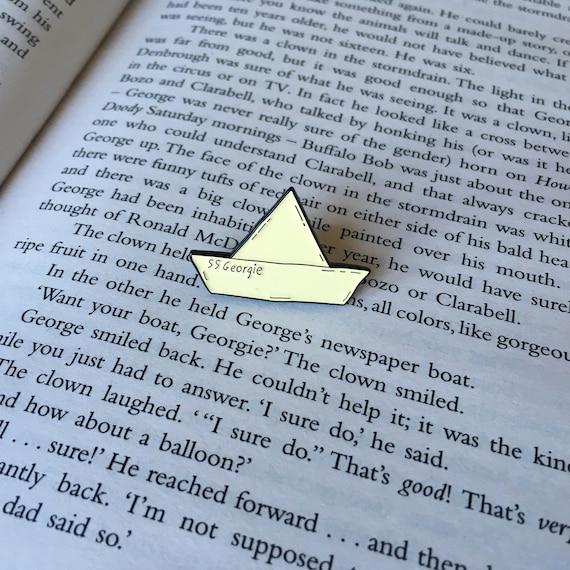SS Georgie Stephen King's IT Enamel Pin Badge