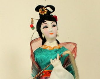 Traditional Chinese Doll Figure - Taiwan