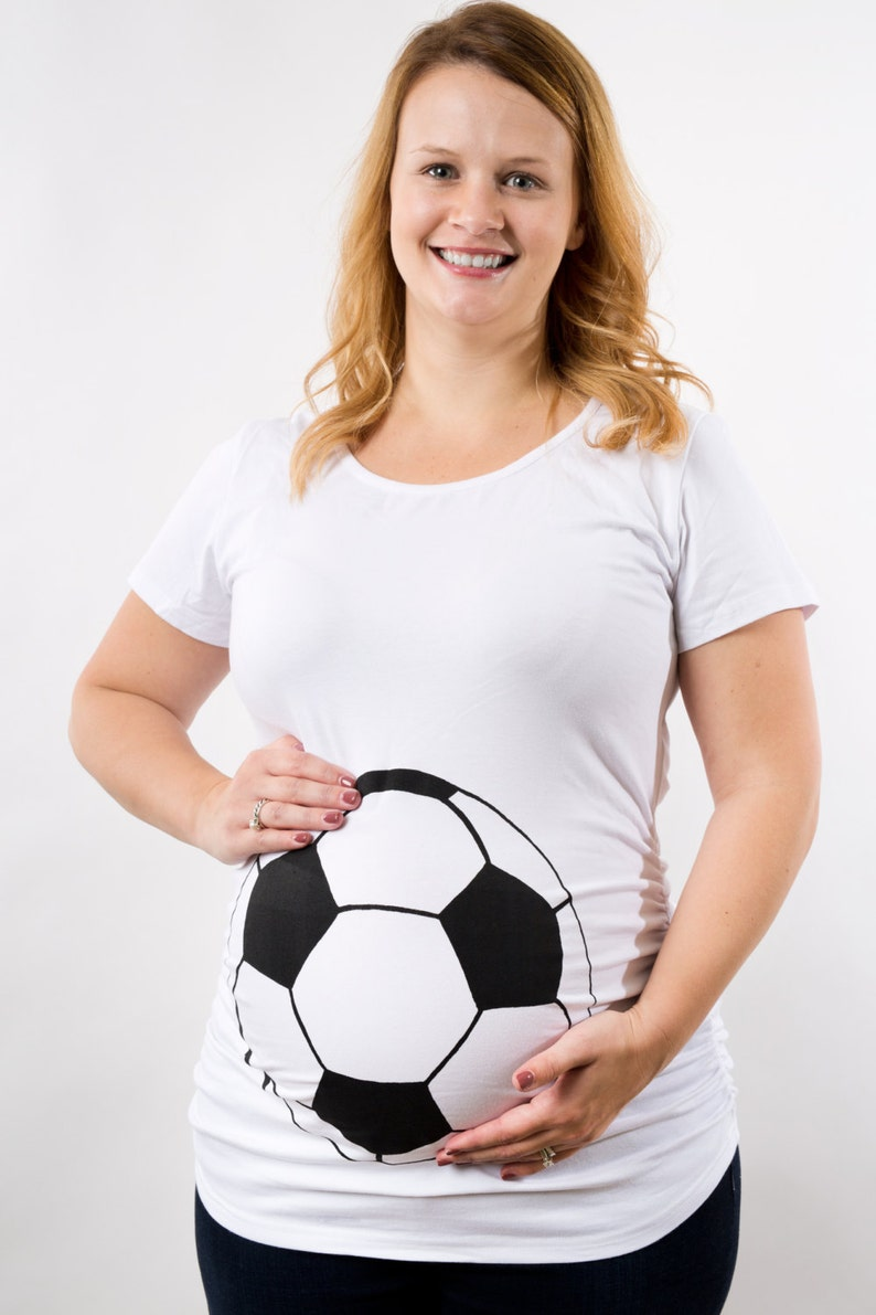 2767199a602b6 Soccer Maternity Shirt Easter Maternity World Cup Soccer | Etsy