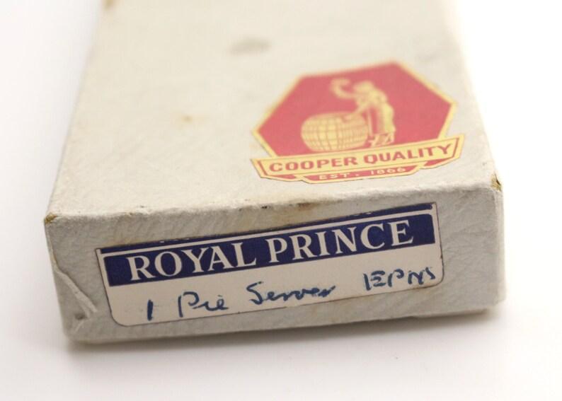 EPNS Pie Cake Server Slice Royal Prince Cooper Brothers and Sons Sheffield in Original Box Vintage Flatware Tea Christmas Dinner Fine Dining