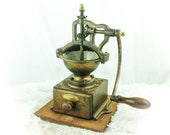 Antique PEUGEOT FRERES A1 Cast-Iron Coffee Grinder French Mill Koffiemolen Moulin Molinillo Cafe Kaffeemuehle Macinacaffe