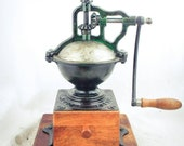 Antique PEUGEOT FRERES A2 Cast-Iron Coffee Grinder Mill Koffiemolen Moulin Cafe Molinillo Kaffeemuehle Macinacaffe