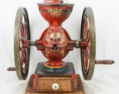 Antique ENTERPRISE PHILADELPHIA Coffee Grinder No.3 Mill Moulin Cafe Molinillo Koffiemolen Macinacafe Double Wheels